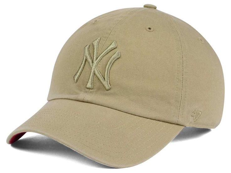 New York Yankees '47 MLB Khaki '47 CLEAN UP Cap