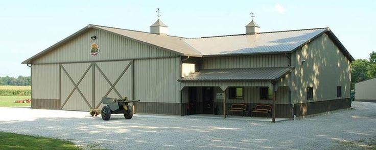 24 best pole barns images on pinterest pole barns pole for Barn shaped garage