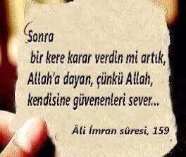 Ali İmran 159