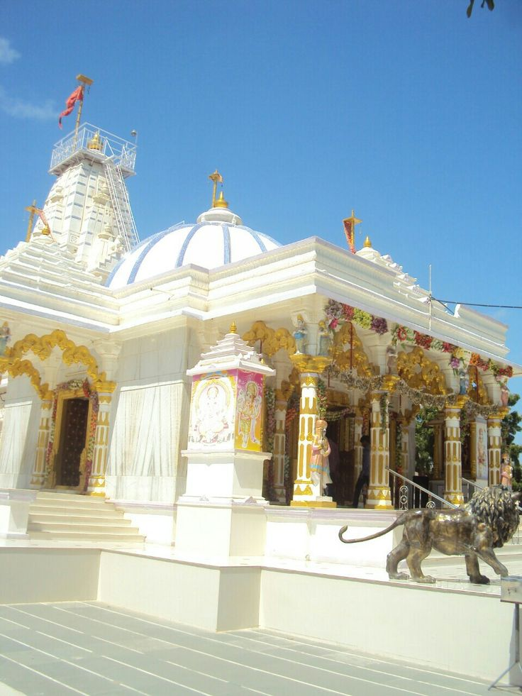 Goddess Ambaji Temple Godhra, Kuchchh ,Gujarat ,India