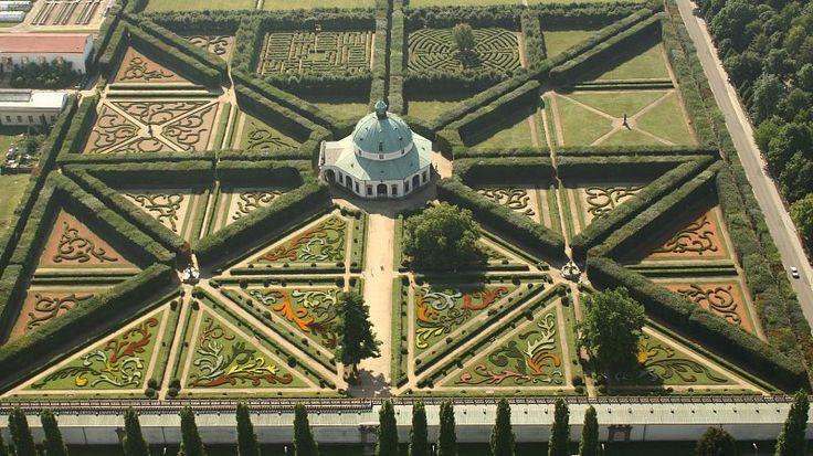 Květná zahrada (Národní centrum zahradní kultury) Kroměříž