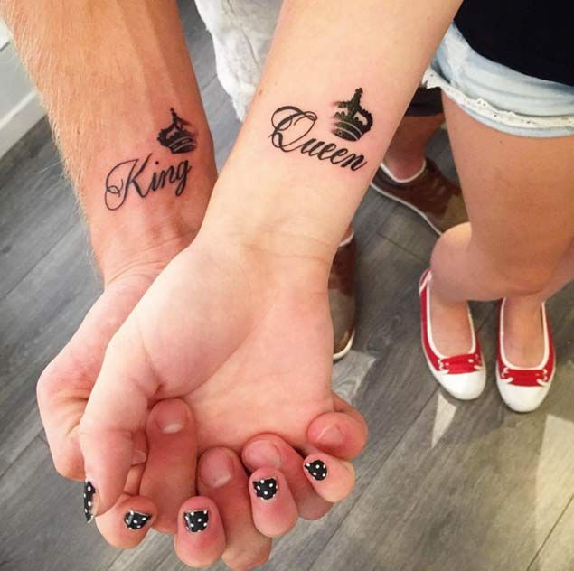 250 Cool Matching Tattoos for Couples nice  Check more at http://fabulousdesign.net/matching-tattoos-for-couples/