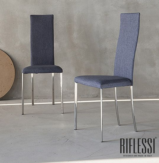 Ergonomic, steel frame and high seat back chair. We introduce you to Luna chair.