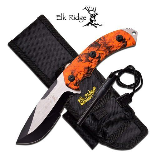 Brand new knife with sheat