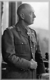 Ion Victor Antonescu  (1882 – 1946)  was a Romanian soldier and authoritarian politician who was convicted of war crimes. The Prime Minister and Conducător during most of World War II, he presided over two successive wartime dictatorships. A Romanian Army career officer who made his name during the 1907 peasants' revolt and the World War I Romanian Campaign,