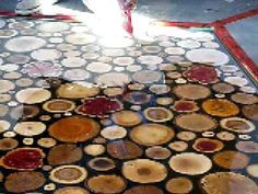 The 25 best diy 3d resin ideas on pinterest diy resin jewelry cordwood flooring by sunny pettis home design garden architecture blog magazine stone flooringdiy solutioingenieria Choice Image