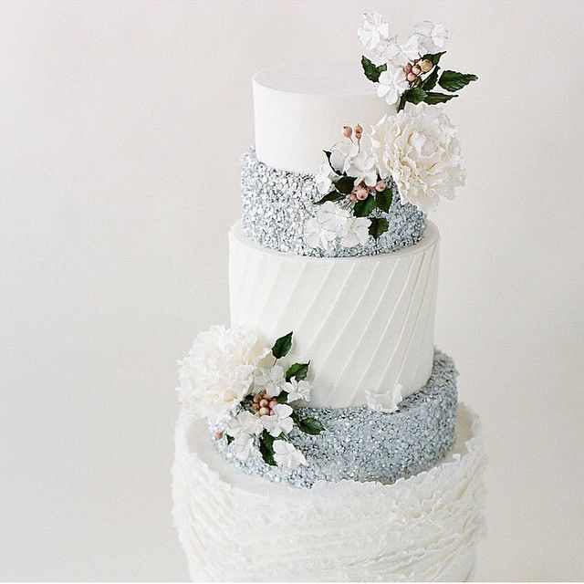 Silver Speckled (100 Layer Cake) on Instagram