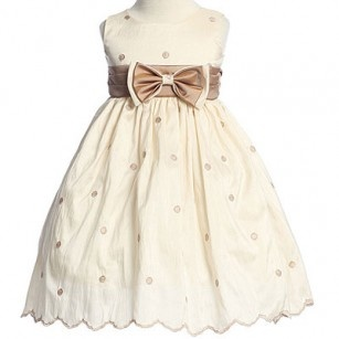Lace, Bows, Polka Dots and little Girls....Easter Dresses For Infants.