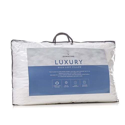 Downtime - Luxury High Loft Pillow ADAIRS $19.95