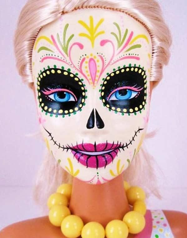 31 Funny Pics Memes Full Of Laughs Madness Team Jimmy Joe Sugar Skull Makeup Day Of The Dead Barbie