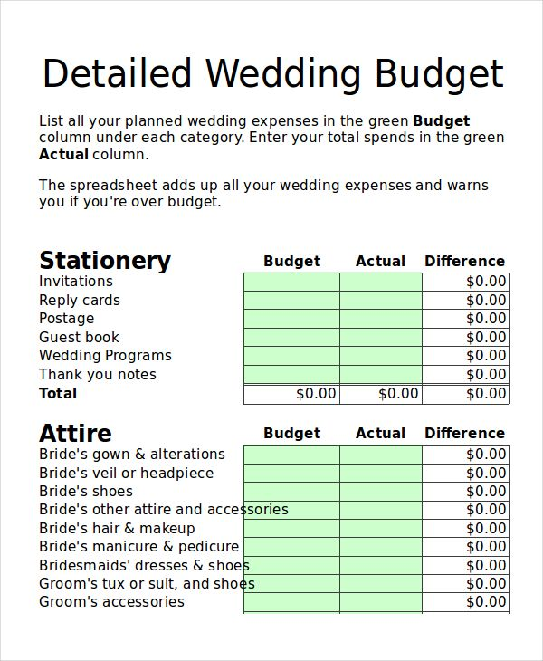 wedding budget planner template 28 images free wedding Food - property expenses spreadsheet