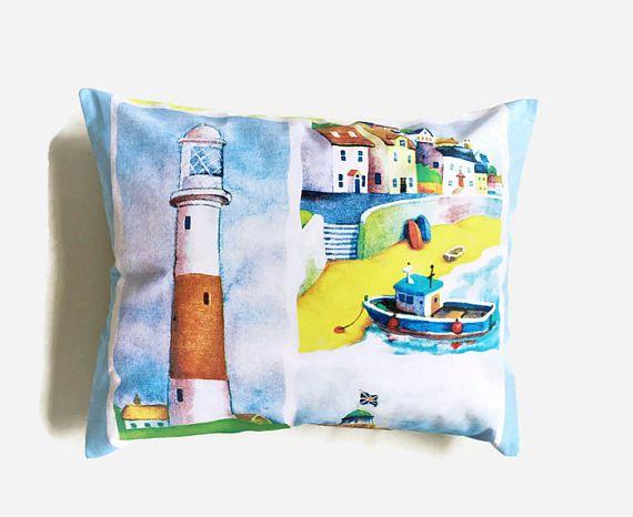 Seaside cuscino cuscino barca casa vacanze capanna in