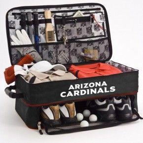 Arizona Cardinals 101 Holiday Gift Ideas: Arizona Cardinals Trunk/Locker Organizer $90.00
