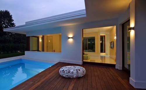 Contemporary Architecture: Contemporary Architecture, Italian Houses, House Blue-Clear, Casa Sm Jpg, Clean Line, Casa Houses, Minimalist Home, Masks 2236090Ea, Casasmjpg 500311