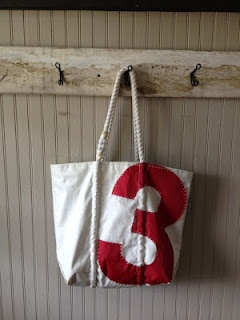 Sea Bags- made from recycled sails at Seabags.com