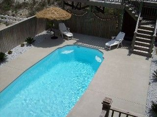 North Topsail Beach House Rental: Oceanfront Private Heated Pool Elevator Wifi | HomeAway
