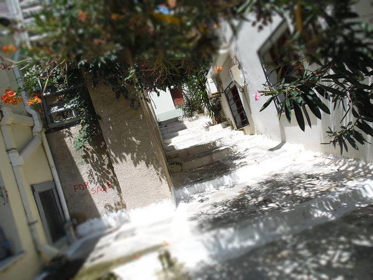 Σοκάκι στο Βαθύ - Side street in Vathy