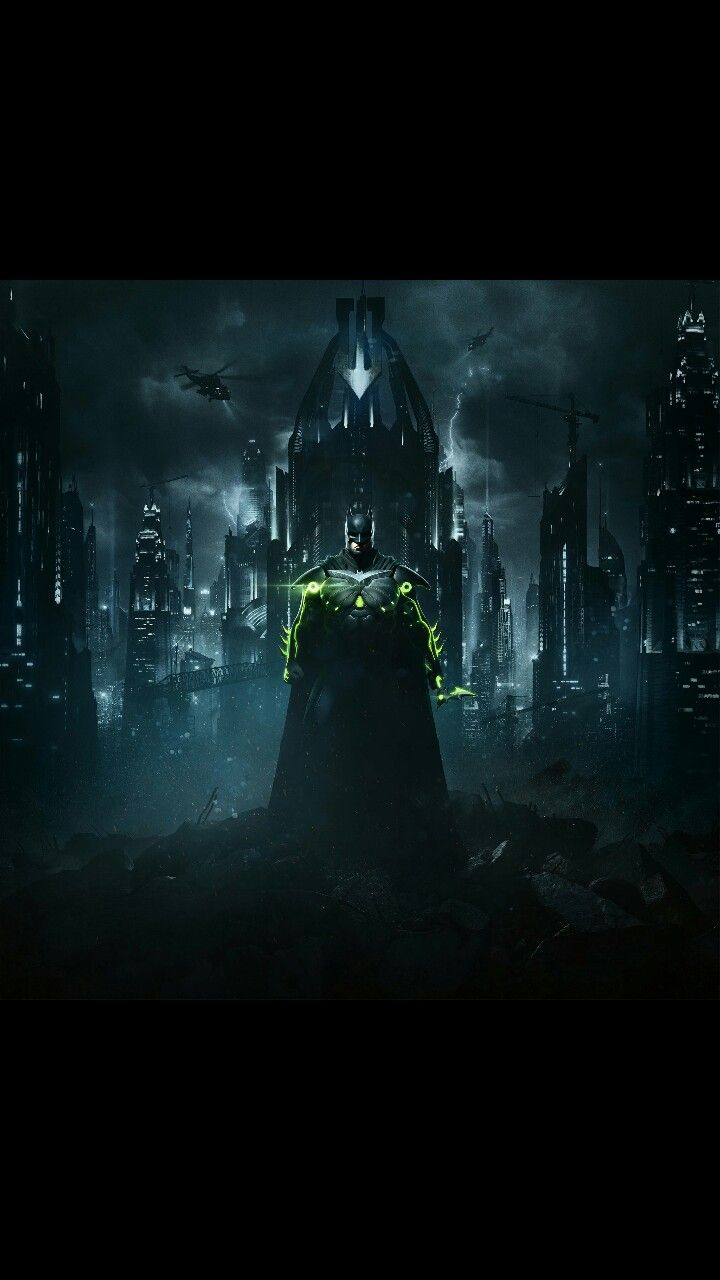 Ultimate edition cover of injustice 2