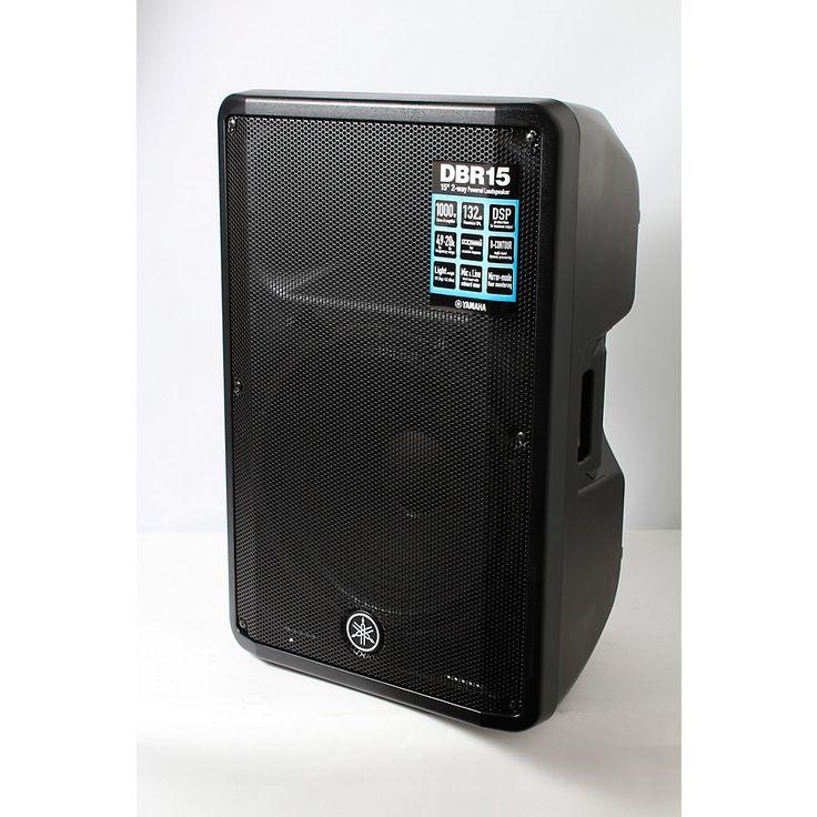 Yamaha DBR15 Powered Speaker Regular 888366018453