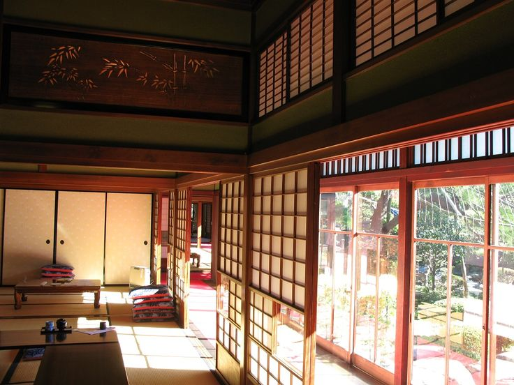 Japanese Old Style House Interior Design Idea
