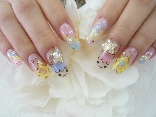 Little Twin Stars / Lux Nails