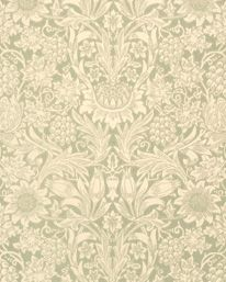 Sunflower Pale Green från William Morris & Co