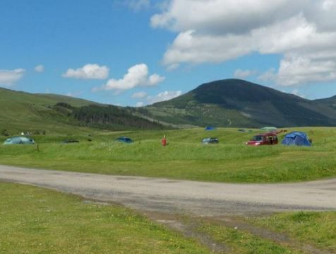 Glenbrittle Campsite, Dunvegan, Isle of Skye, Scotland. Black Cuillin. Walks. Hiking. Holiday. Travel. Camping. Campsite. Outdoors. UK.