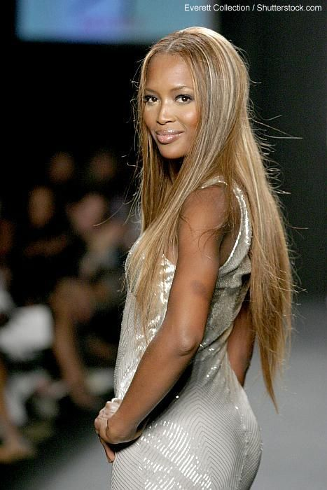 Naomi Campbell Hairstyles Naomi Campbell Hair Celebrity