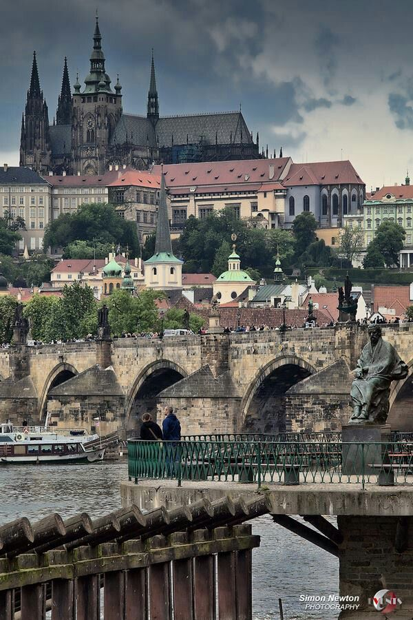 Prague... There's something very intriguing about this dark, mysterious city.
