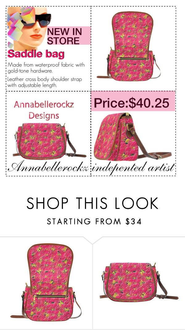 Saddle bag/Annabellerockz by annabellerockz on Polyvore