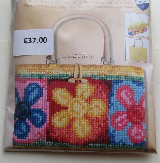 A personal favourite from my Etsy shop https://www.etsy.com/ie/listing/467866992/cross-stitch-handbag-kit