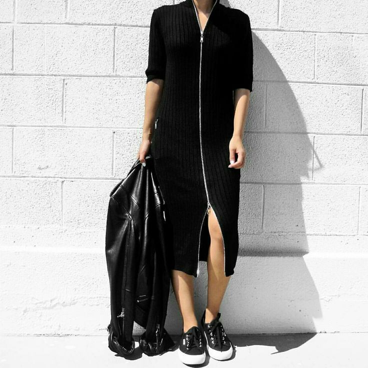 Our Alessia dress in black