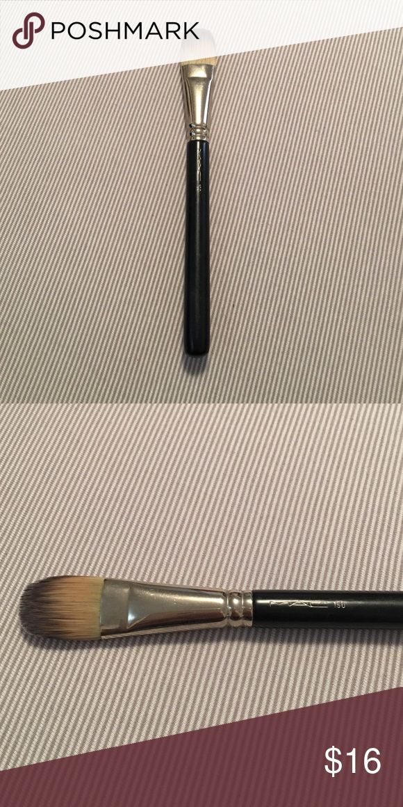 Mac foundation brush Foundation brush #190. Gently used in excellent condition. Has so much life left to it! Open to offers, no trades! MAC Cosmetics Makeup Brushes & Tools