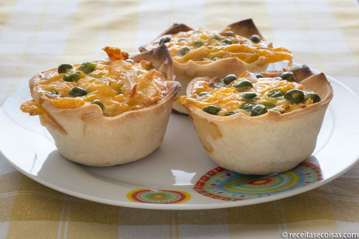 Quiche sem gluten de frango e ervilhas   RECEITAS & COISAS (SEM GLÚTEN)