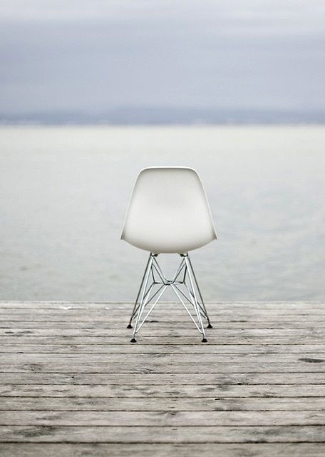 DSR chair by Ray & Charles Eames 1950. A perfect Christmas present for my son & daughter-in-law.. <3
