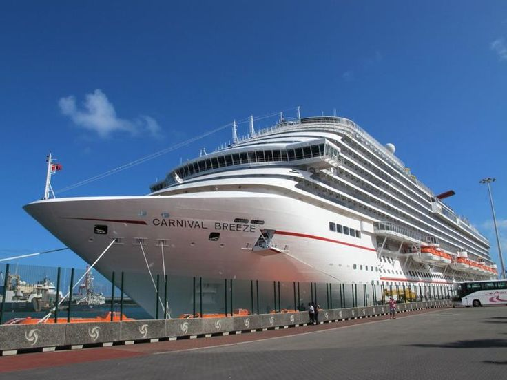 30 Stunning Pictures From Carnival's Newest and Biggest Cruise Ship