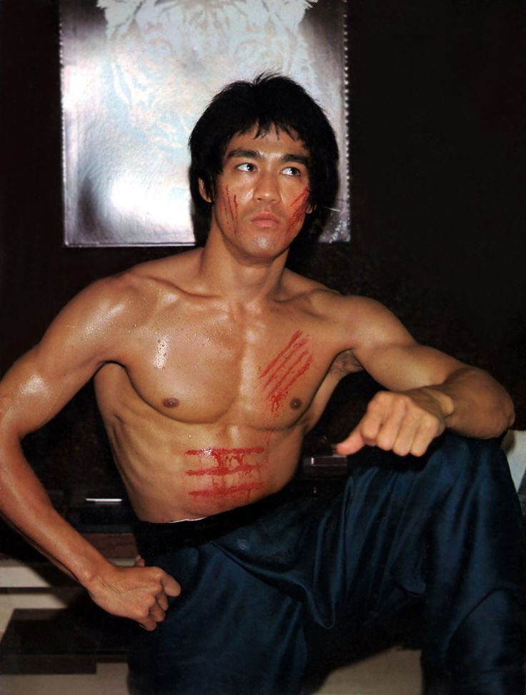 "Bruce Lee (November 27, 1940 - July 20, 1973) on the set of ""Enter the Dragon"", 1973 #actor"