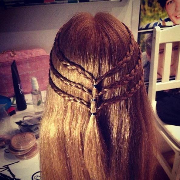 206 Best Images About Hairstyle On Pinterest: 206 Best RAZNE PLETENICE Images On Pinterest