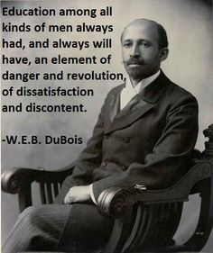 web dubois quote - Google Search