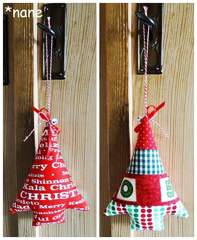 Weihnachtsdeko selbermachen!     Christiane von *nane-Schönes aus Stoff zeigt hier ihre tolle Anleitung für wunderschöne Weihnach...