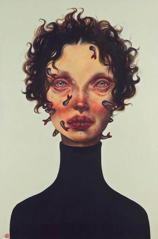 afarin sajedi, retratos de mujer | lamono magazine