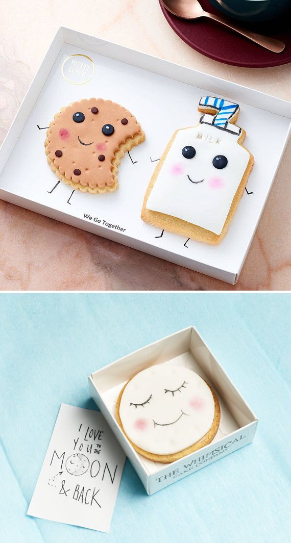 These charming comparisons by Whimsical Cake Company are so adorably sweet!