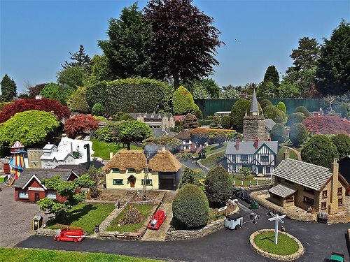 Beaconscot Model Village. Beaconsfield, Buckinghamshire