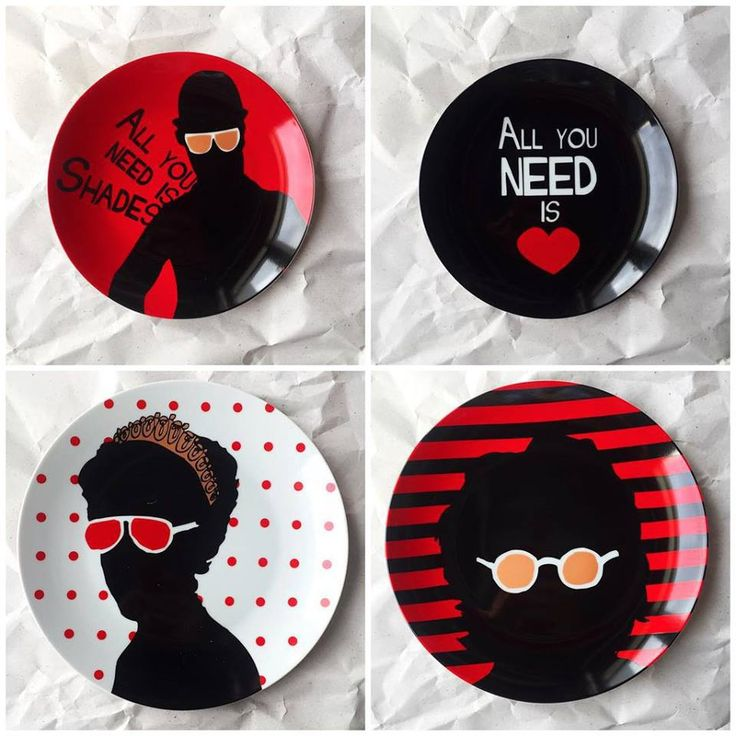 All you need is Love  Decorating wall plate by topchoice