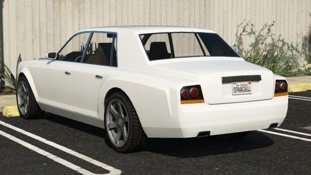 Enus Super Diamond GTA 5 Rear View