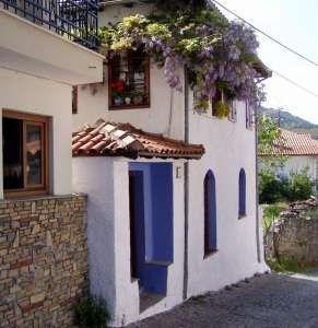 Old house, Litochoro, Moun Olympus, Greece. Peter Krog