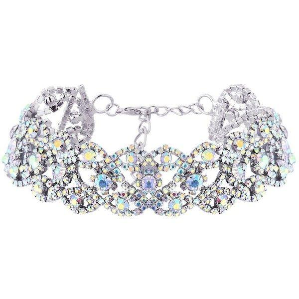 QIYUN.Z Women Fashion Bling Rhinestone Chunky Chain Party Jewelry... (€9,13) ❤ liked on Polyvore featuring jewelry, necklaces, choker jewelry, chunky chain choker necklace, party jewelry, chunky chain necklaces and choker pendants