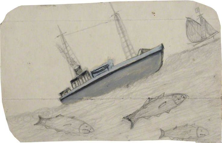 alfred wallis paintings - Google Search