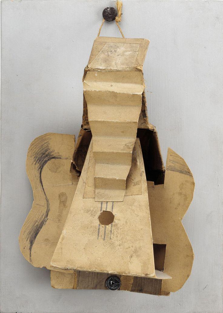 """Pablo Picasso, """"Guitare"""" (1912) RMN-Grand Palais Musée Picasso de Paris"""