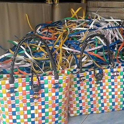 Plastic Packing Strip – recycle creative
